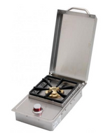 Cal Flame Stainless Steel Deluxe Single Side Burner