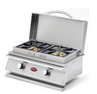 Cal Flame Deluxe Double Side-By-Side Burner
