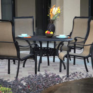Darlee Monterey Patio Furniture Dining Set - Seats 4