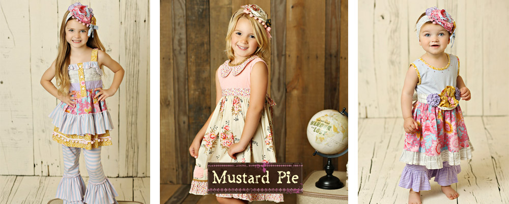 Mustard Pie Clothing Spring 2017