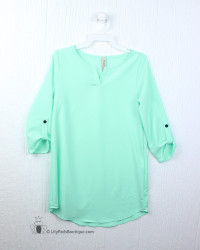 Pomelo Mint Blouse