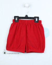 Little English Red Cord Banded Short