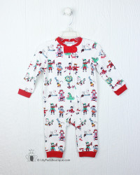 Ishtex 12 Days of Christmas Boy Romper
