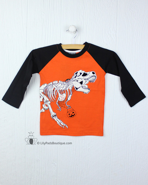 Globaltex Trick or Treat Skeleton Tee