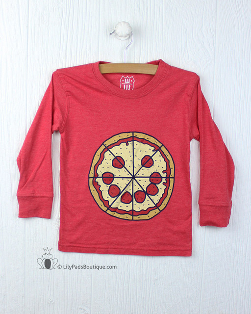 Wes & Willy Red Pizza Tee