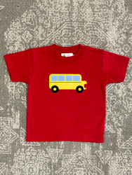 Lily Pads Red School Bus S/S Tee