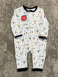 Magnificent Baby Raise the Woof Magnetic Coverall