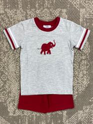 Ishtex Elephant Boy short Set