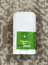 Smarty Pits Mini Deodorant- Rosemary Mint