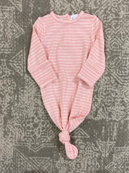 Angel Dear Pink Stripe Knotted Gown