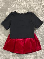 Cranberry Madison Holiday Skirt Set