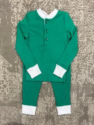 Ishtex Green Boys PJ Set