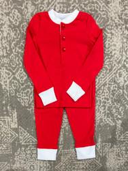 Ishtex Red Boys PJ Set