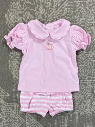 Baby Sen Pink Pumpkin Set
