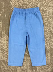 Zuccini Party Blue Corduroy Pants