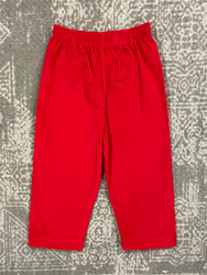 Zuccini Red Corduroy Pants