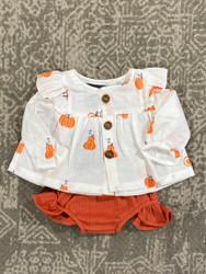 Emma Jean Pumpkins Lilly Bloomer Set