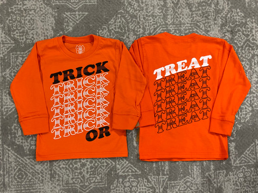Wes & Willy Orange Crush Trick or Treat Tee