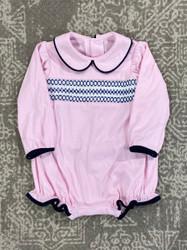 Lullaby Set Pink Knit Charleston Bubble