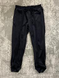 Erge Black Corduroy Pant