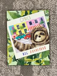 Jelly Cat Cyrils Big Adventure Book