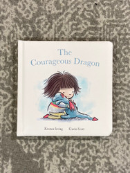 Jelly Cat Courageous Dragon Book