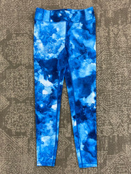 Candy Pink Blue Galaxy Leggings