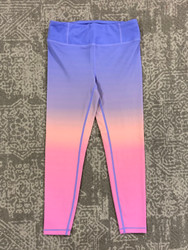 Candy Pink Lilac/Pink Ombre Leggings