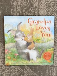 Little Grandpa Loves You Book