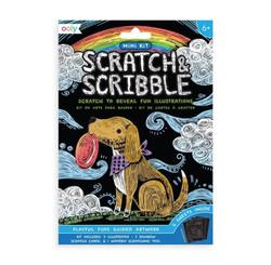 Mini Scratch & Scribble- Playful Pups