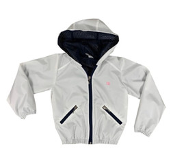 Set Wendy Windbreaker- White/Navy