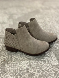 Mia Lalah Taupe Bootie