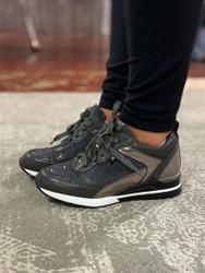 Grey Bling Sneaker