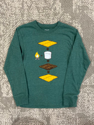 Wes & Willy Evergreen Smores Tee