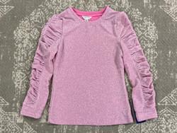 Habitual Girl Light Pink Lana Gathered Top
