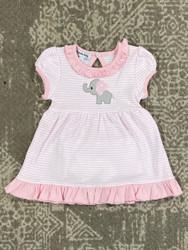 Magnolia Baby Light Pink Elephant Dress Set