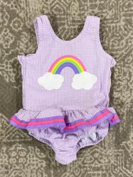 Funtasia Too Rainbow 1 Pc Swimsuit