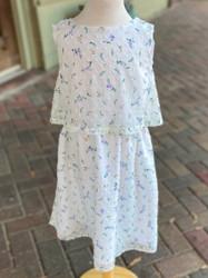 Maggie Breen Floral Dobby Flowy Dress