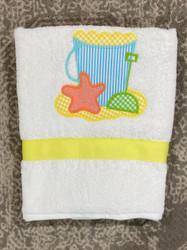 Bailey Boys Beach Applique Beach Towel