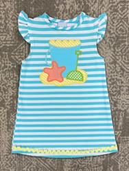 Bailey Boys Beach Fun Applique Knit Dress