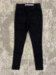 Tractr Black Pull On Jegging