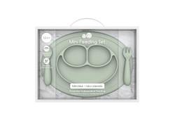 EZPZ Mini Feeding Set- Sage
