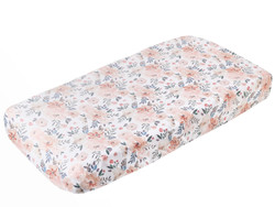 Copper Pearl Changing Pad Cover - Autumn