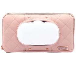 Itzy Ritzy Blush Travel  Wipe Case