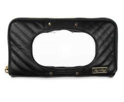 Itzy Ritzy Black Travel Wipe Case