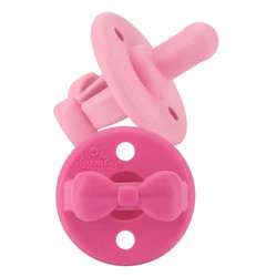 Itzy Ritzy Sweetie Soother Paci Set- Candy/Melon