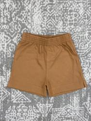 Lily Pads Camel Plain Short