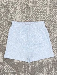 Lily Pads Heather Gray Plain Short