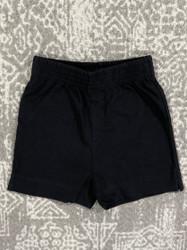 Lily Pads Black Plain Short
