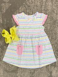 Ishtex Pastel Hearts Empire Dress